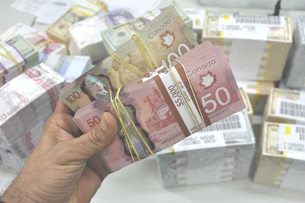 Polícia Federal apreendeu mais de R$ 60 milhões em moedas estrangeiras durande segunda fase da Operação Grande Truque. Foto: Polícia Federal/Divulgação