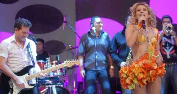 Chimbinha deve seguir com a banda e afirma já ter nova vocalista. Foto: TV Globo