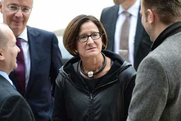 A ministra do Interior da Áustria, Johanna Mikl-Leitner. Foto: Emmanuel Dunand/AFP/Arquivos