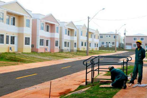 Ministério das Cidades afirmou que a meta de 3 milhões de contratações de unidades habitacionais continua, mesmo dependendo de questões orçamentárias. Foto: Antonio Cunha/CB/D.A Press