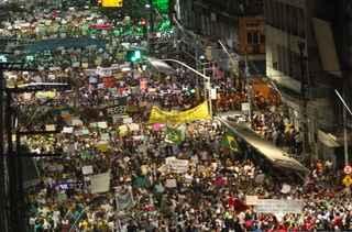 Marina acredita que Dilma perdeu uma grande oportunidade em 2013, durante os protestos realizados pelo Brasil (Nando Chiappetta/DP/D.A Press)