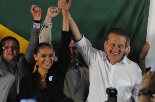 Aliança com Eduardo Campos aconteceu porque ele assumiu o discurso da sustentabilidade (Breno Fortes/CB/D.A Press)