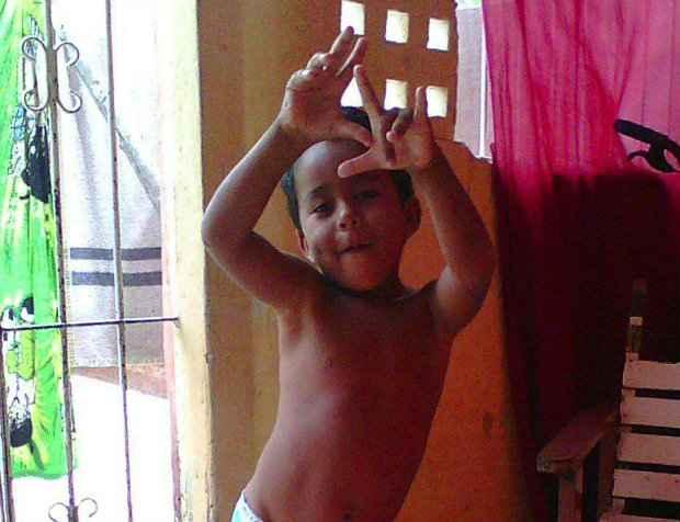 O corpo de Paulo Henrique foi encontrado no pula-pula desinflado. Foto: Acervo pessoal/Reprodução