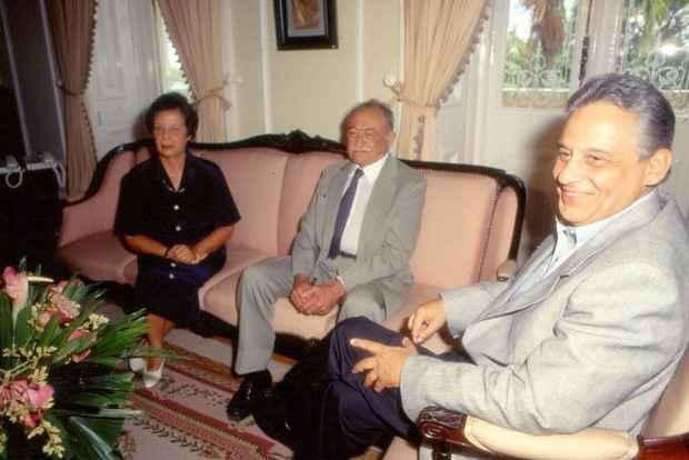 Tucano diz que a relação com a família Arraes foi desde o tempo do regime militar (1964-1985) e, apesar de estarem em campos opostos na política, amizade foi mantida. Foto: Otávio de Souza/DP/D.A. Press/Arquivo