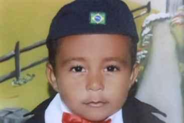 Paulo Henrique tinha três anos. Foto: Reprodução/TV Clube