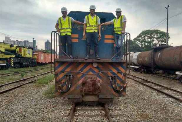 Com a operação do trem de passageiros a ferrovia será preservada em seus 180 quilômetros (foto: Oscip/Divulgação)