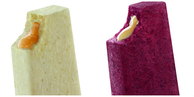 Entre os sabores o Creme de laranja com amêndoas é o único que fará parte do cardárpio fixo. Fotos: Dezoito/Divulgação