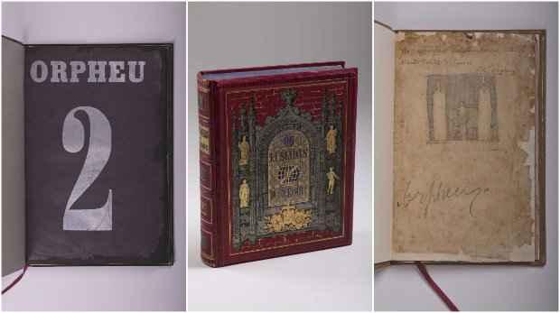 As primeiras edições da Orpheu e Os lusíadas também integram a coleção de José Paulo Cavalcanti. Fotos: Mepe/Divulgação
