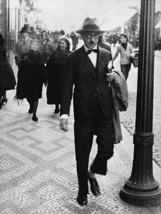 No dia 30, morte de Fernando Pessoa completa 80 anos. Foto: Reprodução da internet