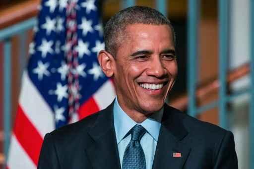 O presidente americano, Barack Obama, em Newark, Nova Jersey, no dia 2 de novembro de 2015 Foto: GETTY IMAGES NORTH AMERICA/AFP Andrew Burton