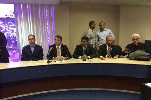 Bolsonaro falou sobre temas como educação e política de gênero em entrevista. Foto: Tércio Amaral/DP/D.A. Press