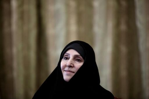 Marzieh Afkham, em Teerã, no dia 1º de setembro de 2015 Foto: AFP/Arquivos Behrouz Mehri