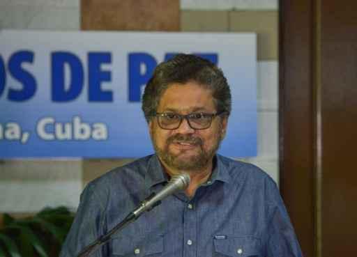 O chefe negociador das Farc, Iván Márquez, em Havana. Foto: Adalberto Roque/Farc