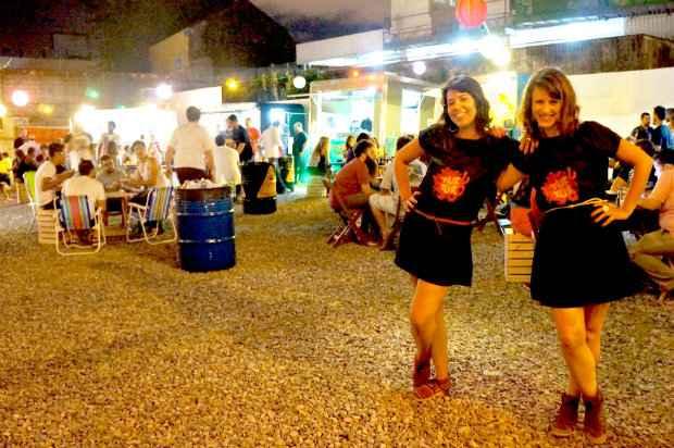 Vanessa e Sueli, sócias do Tuk Tuk, organizaram o novo espaço no Espinheiro. Fotos: Garage Park/divulgação