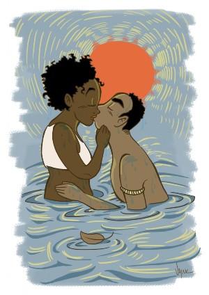 Dandara teria morrido um ano antes de Zumbi. Ilustração: Aline Valek/Divulgação