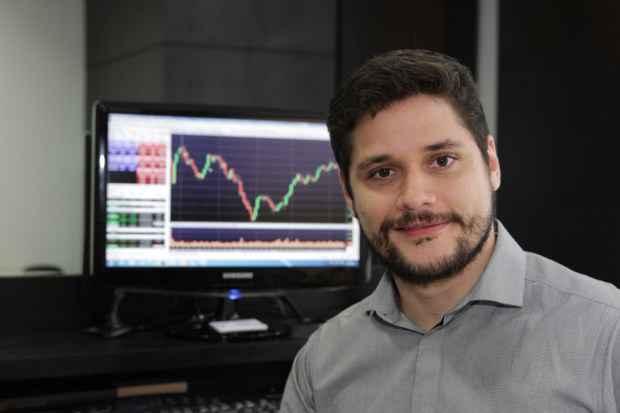 Diogo Velho Barreto destaca a expectativa do mercado em torno do lucro que as empresas podem gerar. Foto: Bruna Monteiro DP/D.A Press
