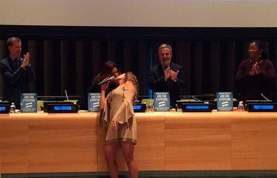 Malu e Daniela se beijaram durante evento. Foto: Instagram/Reprodução