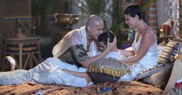 Cena da morte dos primogênitos comoveu bastante o ator - Foto: Record/Divulgação (Foto: Record/Divulgação)