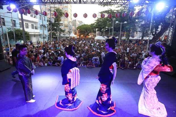 As atrações culturais foram os pontos altos da feirinha. Foto: Rafael Martins/DP/D.A Press