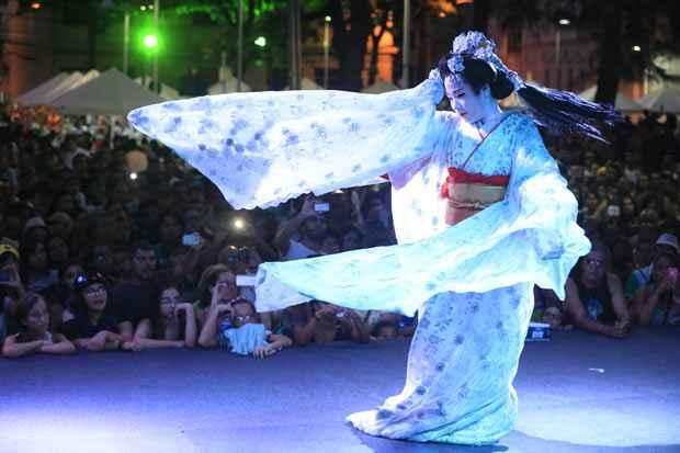 A feirinha japonesa já é um evento tradicional na programação anual do Recife Antigo. Foto: rafael Martins/Esp DP/D.A Press