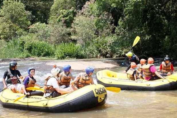 Rafting é uma das opções mais procuradas. Foto: Proxima Aventura Canoar/Divulgação