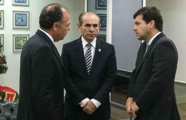 Plano foi divulgado em encontro com o ministro da Saúde nesta terça. Foto: PCR/Divulgação