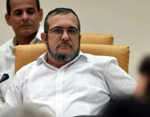 O líder das Farc, Timoleón Jiménez Foto: AFP RODRIGO ARANGUA