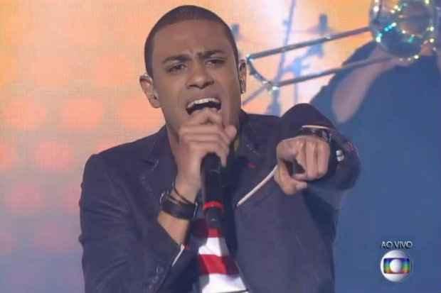 O cantor carioca Romero Ribeiro foi revelado no The Voice Brasil 2014. Foto: Rede Globo/Reprodução