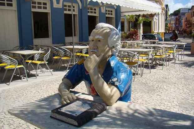 O escritor baiano Jorge Amado é homenageado (Alfredo Durães/EM/D.A. Press)