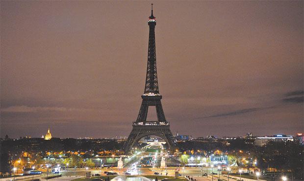 Um dos destinos mais procurados no mundo, Paris figura entre os países considerados como inseguros ao turista. Foto: Alain Jocard/AFP Photo