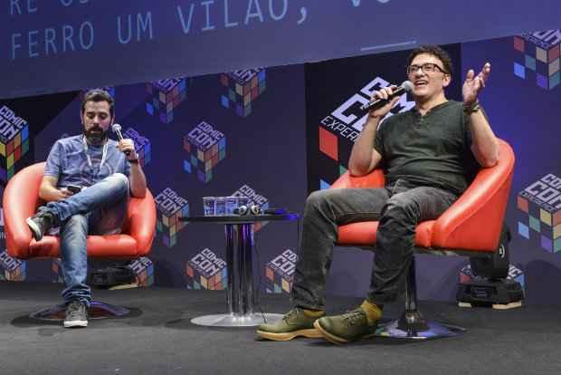 Auditorio Cinemark da Comic Con Experience 2015 na São Paulo Expo em São Paulo, capital. Foto: Daniel Deak