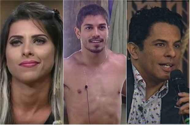 Ana Paula, Douglas e Luka estão na final do reality da Record. Foto: Divulgação