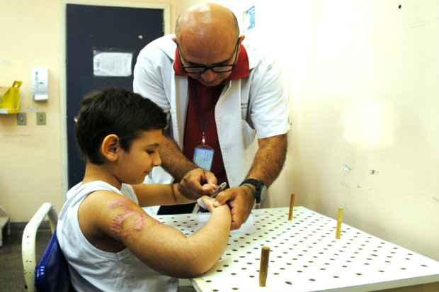 Foto: Luiz Barros/ Secretaria de Estado de Saúde