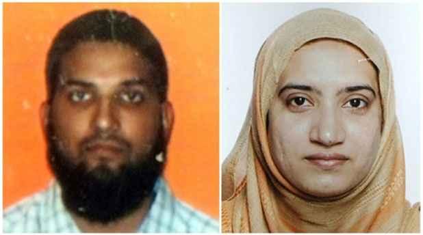 Combinação de fotos mostra os dois suspeitos do tiroteio em San Bernardino Syed Farook e Tashfeen Malik. Foto: AFP/Arquivos