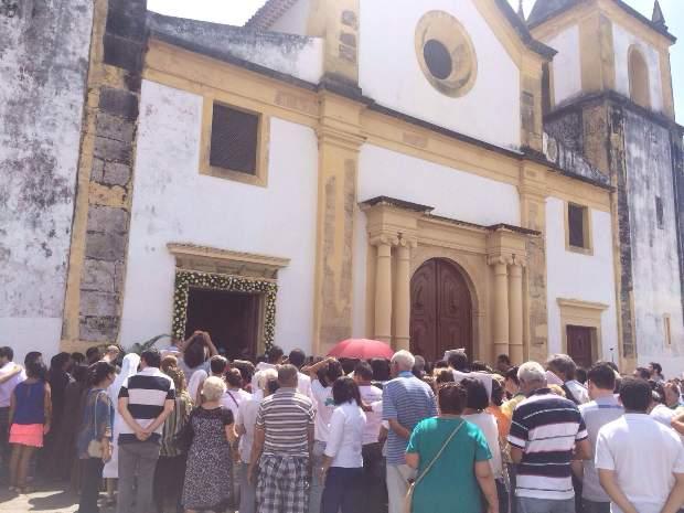 A abertura da porta simboliza o início do Ano Santo. Foto: Wagner Oliveira/DP/DA Press