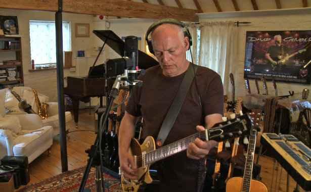 David Gilmour está no Brasil para shows da turnê de Rattle That Lock. Foto: Facebook/Reprodução