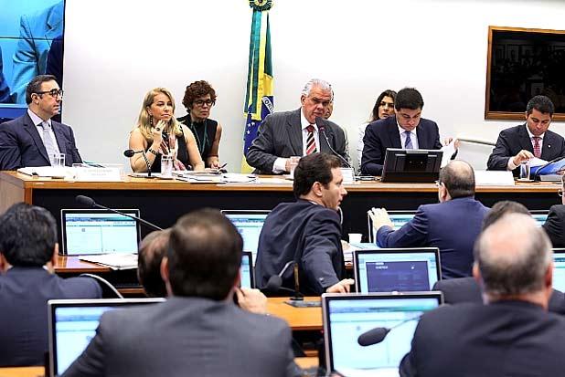Por 11 votos a 9, os deputados do Conselho de Ética decidiram não aceitar o pedido de vista e dar sequencia ao processo. Foto: Antônio Augusto/Câmara dos Deputados