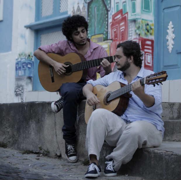 Vinicius e Yamandu gravaram em locações externas e internas em Olinda e no Recife. Foto: Canal Brasil/Divulgação