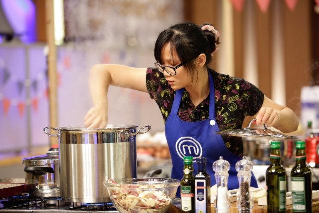 A participante Jiang Pu ficou em terceiro lugar na última temporada. Foto: Band/Divulgação