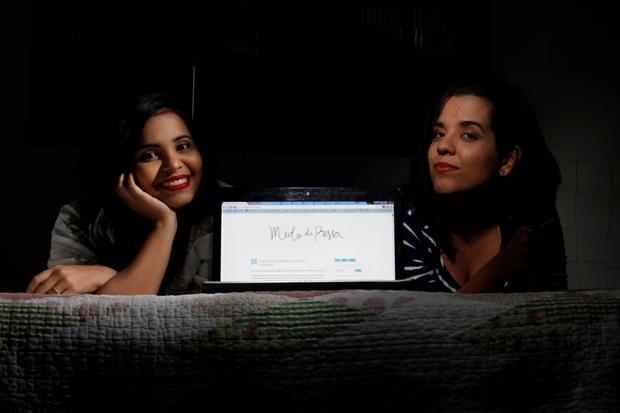 Izabela e Vitória mantêm o Medo da Pressa há cerca de cinco anos. Foto: Ricardo Fernandes/DP