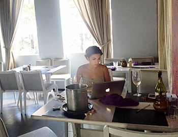 Laurinha Marinho tem milhares de seguidores no Facebook e no Instagram. Foto: Acervo pessoal/Reprodução