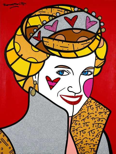 Princesa Diana. Arte: Romero Britto