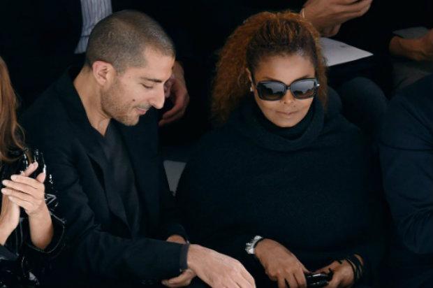 Janet Jackson e o marido Wissam Al Mana. Foto: AFP/Arquivos Miguel Medina