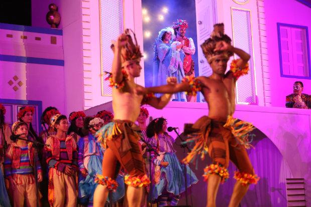 Peça musical combina cultura nordestina com conteúdo natalino. Foto: Hesiodo Goes/Esp. DP