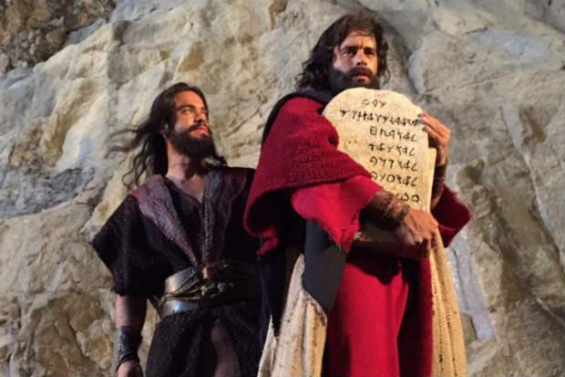 Record estreia em março a segunda temporada do sucesso Os Dez Mandamentos. Foto: Record/Divulgação