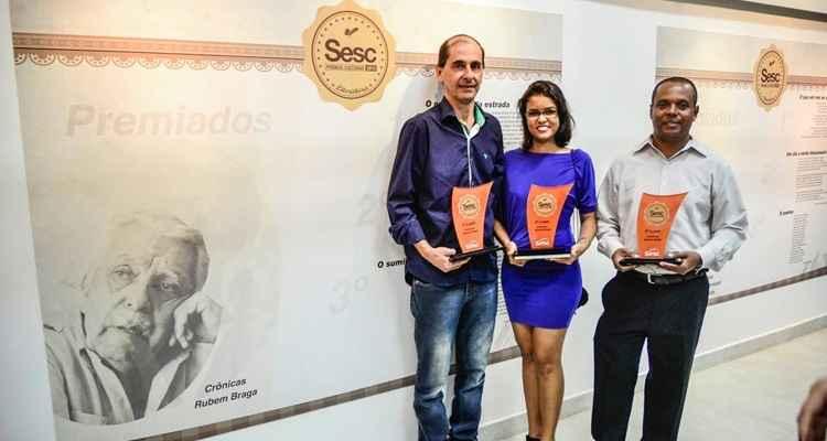 Prêmio Sesc literatura, edição de 2013. Foto: Divulgação