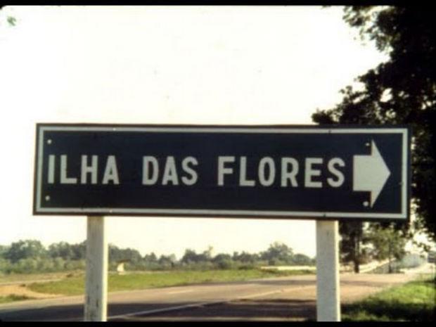 """O curta """"Ilha das flores"""" está na programação da mostra. Foto: YouTube/Reprodução"""