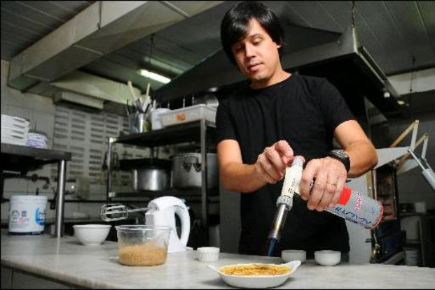 Chef Joca Pontes vai oferecer menu em seis etapas. Foto: Blenda Souto Maior/DP/D.A