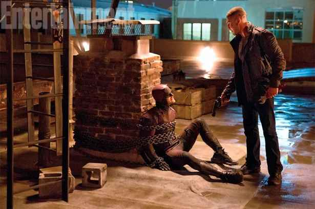 Jon Berthal, de The Walking Dead, vive o Justiceiro, na nova temporada. Foto: Netflix/Divulgação