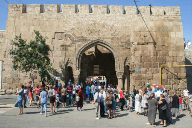 Fortaleza de Derbent em 19 de setembro de 2015. Foto: Ilyas Hajii/AFP/Arquivos